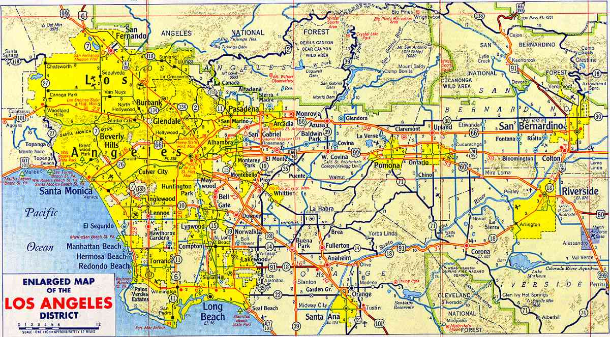 Atlas Downtown Los Angeles Map Printable – Los Angeles Map Tourist